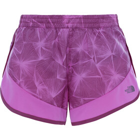The North Face Altertude Hybrid Shorts Dam wood violet linear floral print